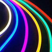 DEDC 4pcs Multicouleur LED Bande de Lampe au Néon