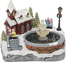 deendeng Décorations de Noël – Scène de Noël