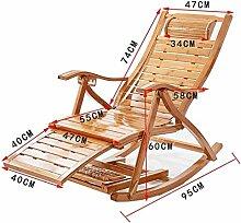 Deezu Transat Chaise Jardin Balcon à Bascule