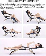 Deezu Transat Chaise Jardin Confortable Zero