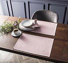 DEGRENNE Linge De Table Coton Rose Antique Sets