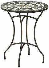 Dehner Table de Jardin Diana Ø 60 cm, Hauteur 72