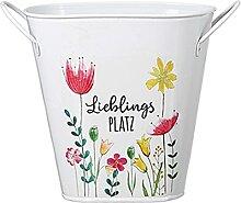 dekojohnson Pot de fleurs vintage rustique en