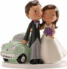 dekora 305072 Figurine pour gâteau de Mariage «