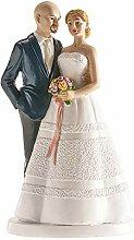 Dekora - 305091 Figurine pour gâteau du mariage,