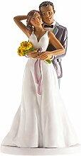 Dekora - 305093 Figurine pour gâteau du mariage,