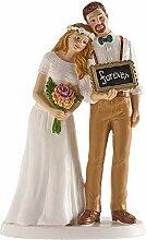 Dekora - 305095 Figurine pour gâteau du mariage,