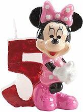 Dekora Bougie 5anniversaire Minnie Disney