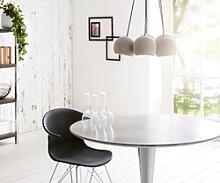 DELIFE Lampe-à-suspension Pentola 45 cm Gris 6