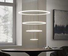 DELIFE Plafonnier Tondo blanc D80x150 cm Lampe