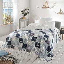 Delindo Lifestyle® Jeté de lit Maritim pour lit