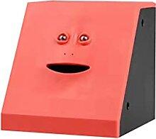 Delisouls Tirelire en forme de visage pour enfants
