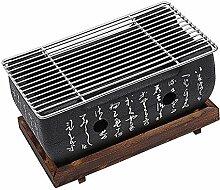 DELITLS Barbecue de table au charbon de bois