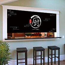 Demi-rideau de porte de cuisine de Restaurant,