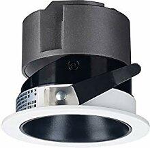 Derybol Encastré Downlight Noir en Aluminium LED