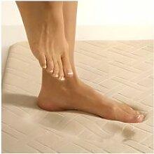 Descente de lit à mémoire de forme 45 x 85 cm