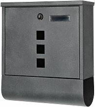 Design boîte aux lettres 30x33,5x10cm boîte aux