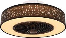 Design LED Plafonnier Ventilateur Ventilateur