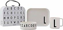 Design Letters 20201500L Boîte cadeau Tritan