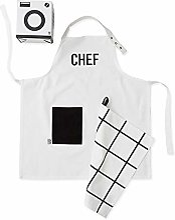 Design Letters Kids Chef Ensemble tablier et