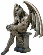 Design Toscano Sculpture Socrate, la gargouille