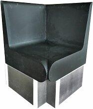 Desineo - Banc angle arrondis 600 x 586 x 870 mm