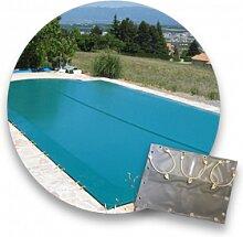 Desjoyaux Bâche d'hiver piscine 4.06 x 9.50 m