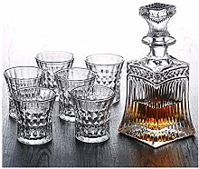 Dessin de whisky 5PC Crystal Whisky Decanter