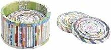Dessous de verre en papier recyclé (lot de 6)