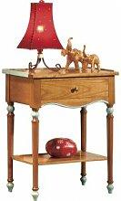 Destock Meubles Table d'appoint merisier