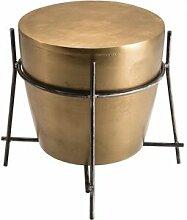 Destock Meubles Table d'appoint ronde Ø45cm