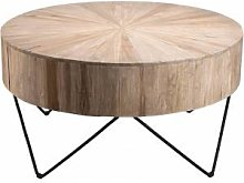 Destock Meubles Table d'appoint ronde branches