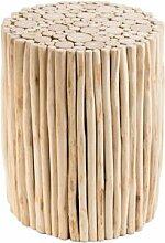 Destock Meubles Table d'appoint ronde petites