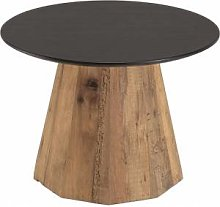 Destock Meubles Table d'appoint ronde pin –