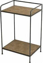 Destock Meubles Table d'appoint sapin