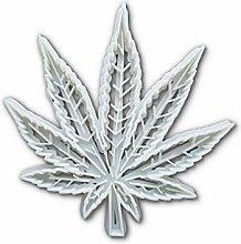 détaillée Grande cannabis de chanvre Forme de