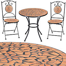 Deuba - Salon de jardin Roma - 1 table & 2 chaises