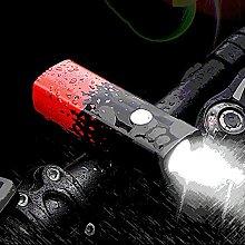 DevileLover Eclairage Vélo Étanche USB