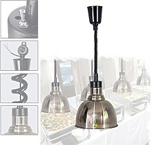 DevileLover Lampe chauffante pour Buffet,Lampe