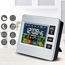 DFGHJ Station Météo LCD Intérieur Thermomètre