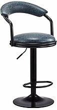 DFJKE Chaise de Bar Chaise rotative Tabouret Haut