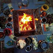 DGHJK Foyers Pliables réchaud de Camp à Bois en