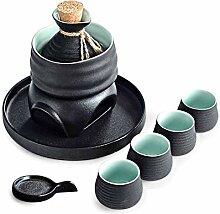 DGNXT Ensemble de saké Japonais, Coffret Cadeau