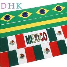 DHK-drapeau brésilien et mexicain de 1.5