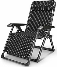 DHR Chaise Longue De Jardin Pliante Accoudoirs De
