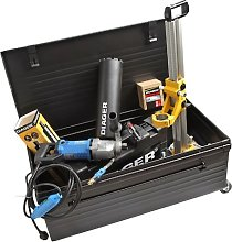 Diager - Pack carrotage électrique 2000 W raccord