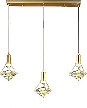 Diamant Cristal Lustre,Moderne Laiton Luminaire