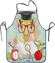DianaRMurdhy Hipster Girafe Animal avec lunettes