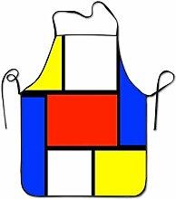 DianaRMurdhy Mondrian Art Style1 Tablier de