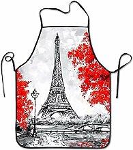 DianaRMurdhy Tablier Paris Tour Effiel - Tablier